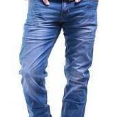 Качественные джинсы на лето 29-38 р, Голубой красивый цвет