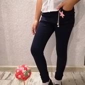 Супер стрейчевые джинсы 21-26. На рост 122-140.Можно в школу