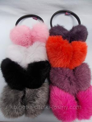 Меховые наушники из натурального меха кролика. совместная покупка и ... 7350a8e515eb6