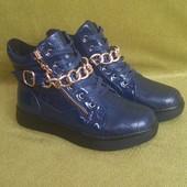 Демисезонные ботиночки для девочек и мальчиков. Размеры с 22 по 32.