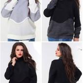 Женские тёплые свитера ботале и норма 46-50 , 52-56  Разные модельки)