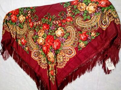 be6fb7952083 Шикарные павлопосадские платки 140 140, платки народные, разные расцветки