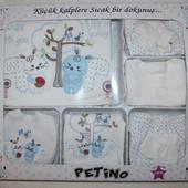 Качественные комплекты для новорожденных (хлопок), на крестины (0-3 мес.), наборы до года.