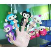 Игрушка интерактивная Обезьянка Finger Monkey 40 звуков+в комплекте 4 бат-ки+зарядка usb