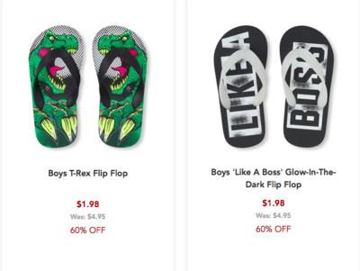 1d4ab3a88 Childrens place распродажа пляжной обуви совместная покупка и ...