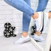 Женские и мужские!!! кеды All Star под стиль Converse. Белые, красные, джинс