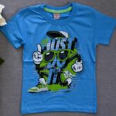 Яркие футболки для мальчиков  5-13 лет, Турция, заказ от 1 шт.