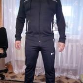 Спортивные костюмы и брюки для мужчин.Плотный эластик.Реальное фото и замеры. Три цвета.