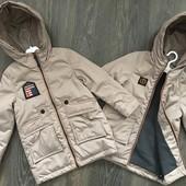 Новинки 2019, весенние курточки для мальчиков 92-134 рост