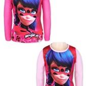 Модный реглан для девочек Lady Bug 4-12 лет и мальчикам Minnion с Европы 4-10 лет.