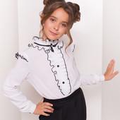 Можно выбрать с 1 по 7 фото)  Школьные блузки от Модус. Выкуп от 1шт. Спешите, улетают)