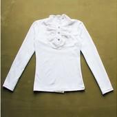 Супер качество! Школьные блузы короткий и длинный рукав,отправка сразу без сбора ростовок.