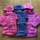 Демисезонные куртки для девочек на синтепоне 134-164