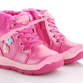 СП без ожидания!Детские модные зимние  ботиночки, р. 22-27. Дутики для девочек (размеры 32 - 37)