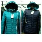 Женские демисезонные куртки 46-56 .Только в тёмно-синем цвете.