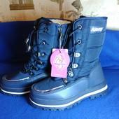 Фото 1 в наличии Зимняя обувь для девочек сапожки ботинки 32,34,35 размер