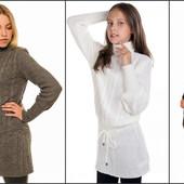 СП зимние детские платья свитера и туники. Есть наличие. На рост от 116 до 158.