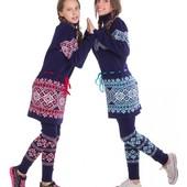 Заказ на складе СП зимние детские платья свитера и туники. Есть наличие. На рост от 116 до 158.