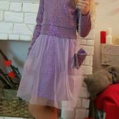 Платья в наличии фиолет р. 110 Кому?