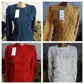 Женские свитера очень теплые вязка