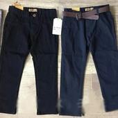 Акция!Котоновые брюки для мальчиков s&d 6-16 лет.Отличное качество