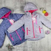 Курточка для девочек Весна. В наличии 4.6.8 лет .