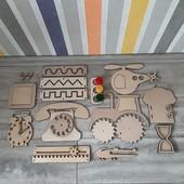 Заготовки для бизиборда/бизикуба, комплектующие для доски Монтессори