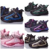 Очень классные, качественные кроссовки W.Niko, демисезон. Р-ры 31-36