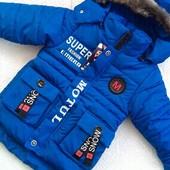 Демисезонные красивые куртки для мальчиков от 86 до 140 р заказ 12.03
