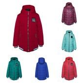Демисезонная куртка для девочки Драйв, р.134 140 146 152