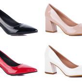 Классические аккуратные туфли лодочки в стиле Zara
