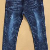 Мега крутые джинсовые Джеггинсы на модных девочек 4-16 р