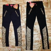 Модные брюки-леггинсы на девочек . Маломерят.
