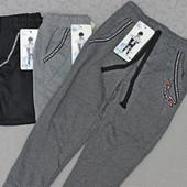 Спортивные штаны для мальчика от 4 до 12 лет из двухнитки (cotton)