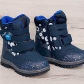 Зимние термо ботинки на мальчика.Сбор и наличие р.28