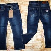 Очень крутые джинсы на мальчишек 4-12 лет