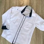 Срочный сбор.Рубашки-трансформеры белые мальчикам 11-14 лет .Турция