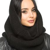 Распродажа!70-80грн!Объемные шарфы-восьмерки по цене прошлого года!Для взрослых и детей.От 1 шт.