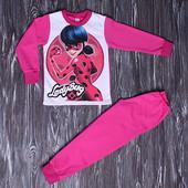Пижамы с начесом разм 110-140 леди баг, единорог, минни, лол