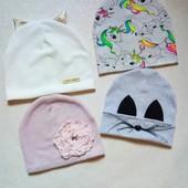 Авторские изделия деми, зима, шапочки и комплекты , можно и Family Look