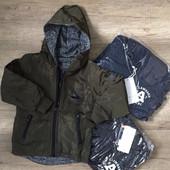 Двухсторонняя утепленная курточка для мальчика S&D, 4-12 лет Уже едут!