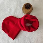 Стильные и теплые комплекты шапка + хомут, унисекс, качество!Шерсть+акрил, много отзывов,новые цвета