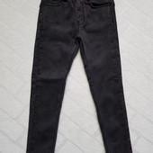 Чёрные джинсы утеплённые на флисе для девочек ,размеры 116-146 см. Фирма Grace (Грейс) .Венгрия