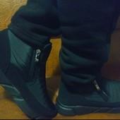 Лёгкие теплые мужские ботинки дутики 40-45