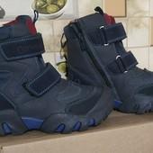 Зимние ботинки для мальчиков, р 27-38, реальные фото и замеры