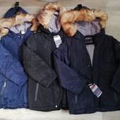 Зима....Куртка на меху для мальчиков Taurus 8-16 л. Венгрия