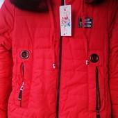 Шикарные куртки на девочек! Снова акционная цена всего 499 грн!!