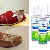 Водоотталкивающий спрей для обуви Aquaphob, до 3 месяцев защита обуви от влаги и грязи.