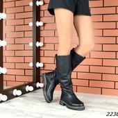 Зимняя обувь,натуральная кожа и замша