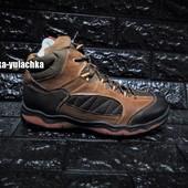 Стильные зимние кожаные ботинки рр. 40-45